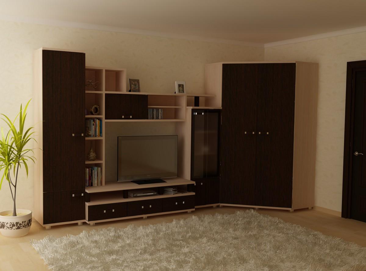 Угловые шкафы для гостиной фото